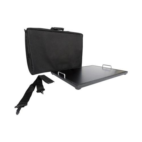 Vboard flat series medium, 16 x 24 pedalboard with transport bag