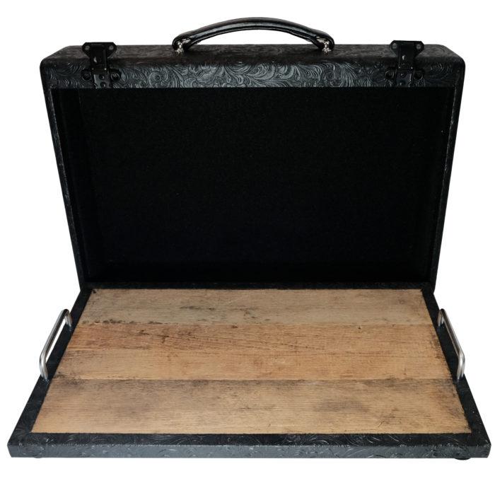 Vboutique 12 x 20 modern vintage suitcase pedalboard