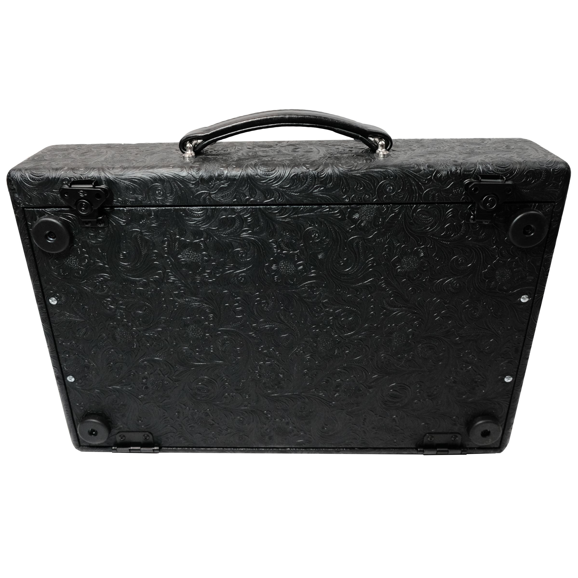 Vbooutique 12 x 20 modern vintage suitcase pedalboard