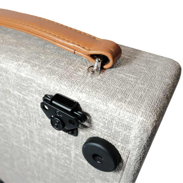 VBoutique 12 x 12 Modern Vintage Suitcasae Pedalboard